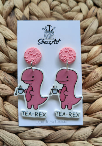 Tea-Rex Earrings