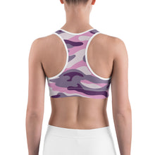 Buff Beauty Purple Sports bra