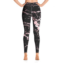 Black Marble Yoga Pants