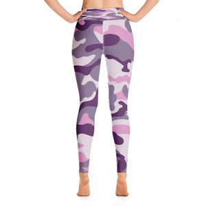 Buff Beauty Purple Yoga Pants