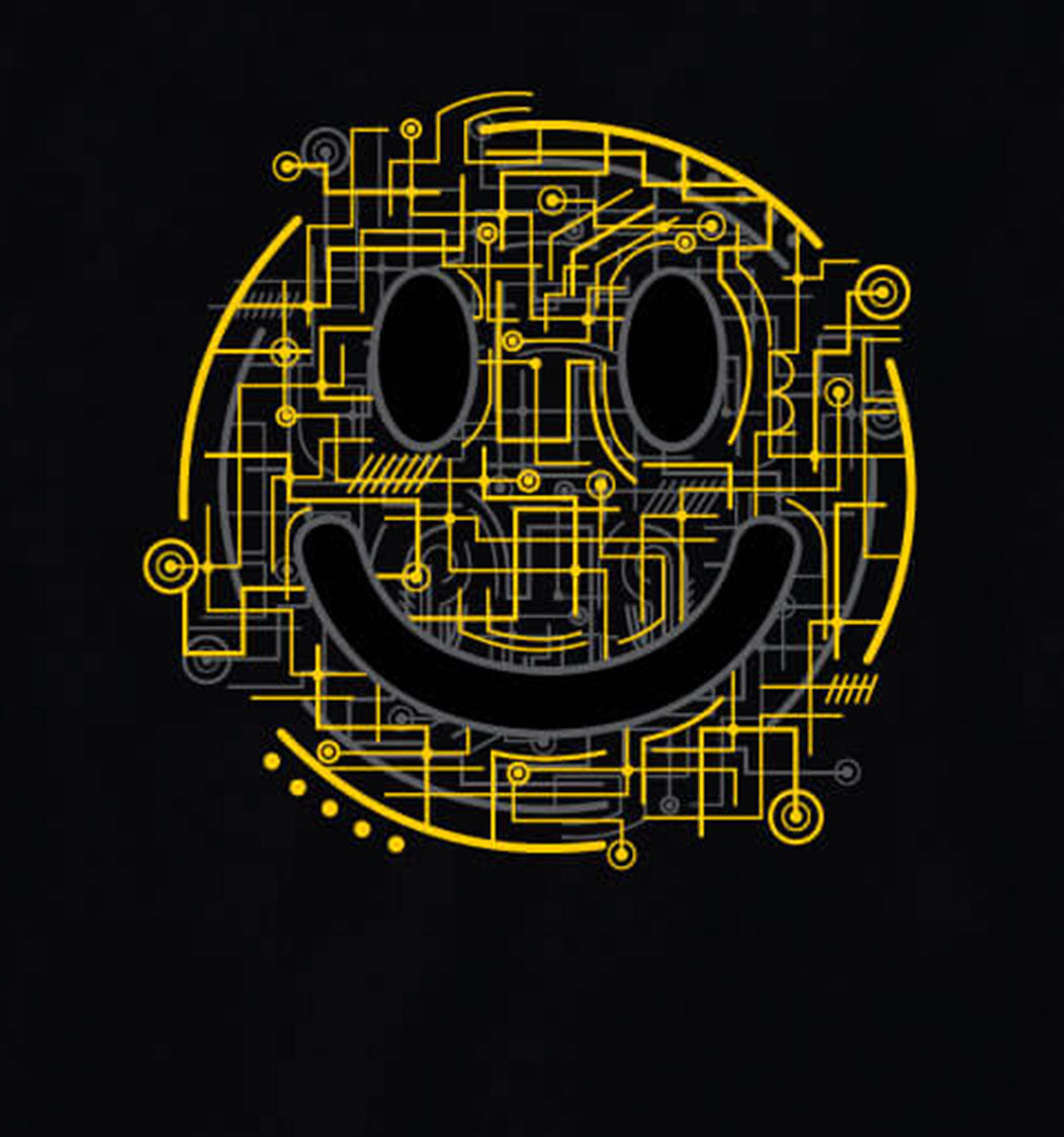 Electric Smiley T-Shirt