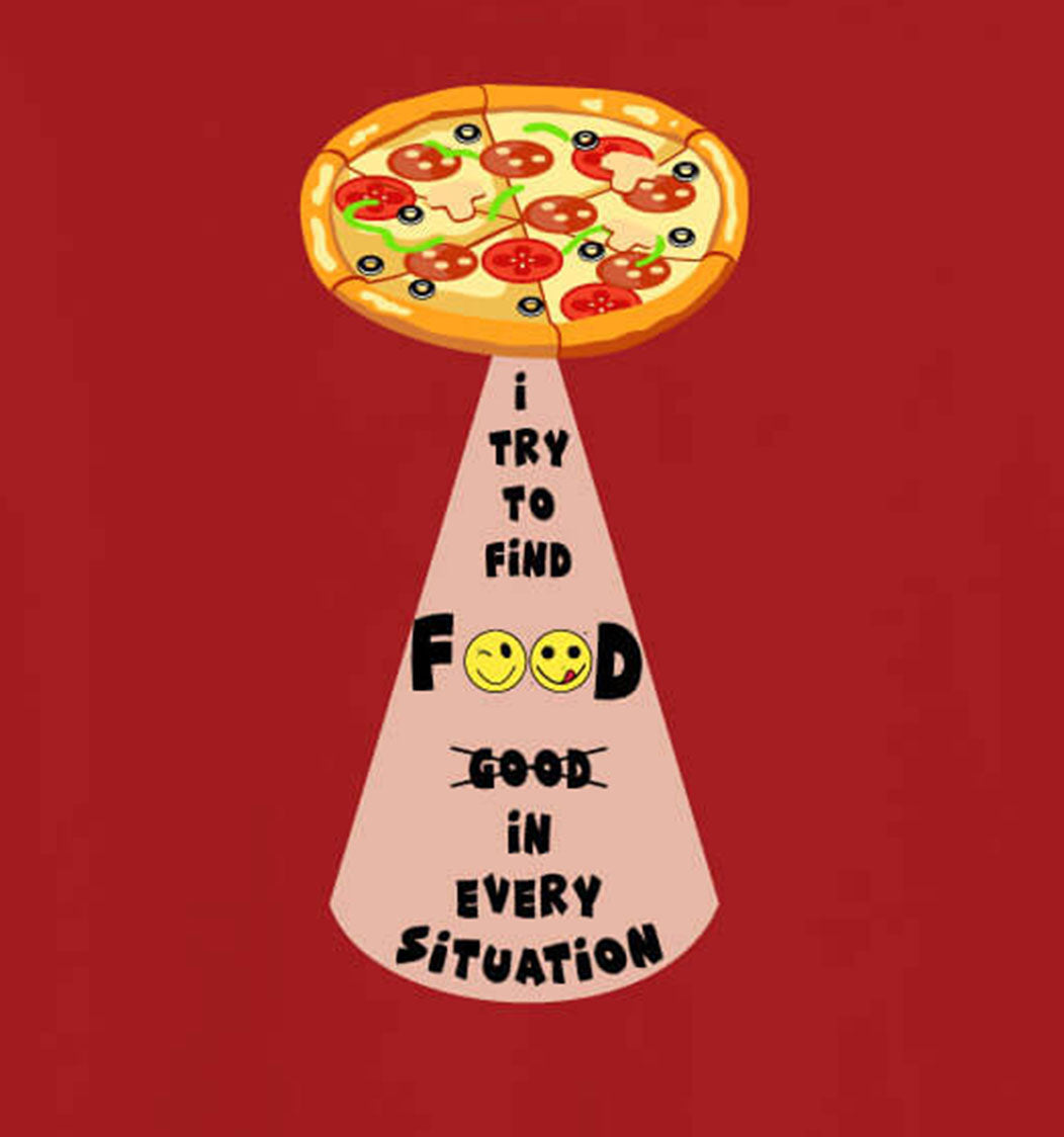 I Try To Find Food T-Shirt