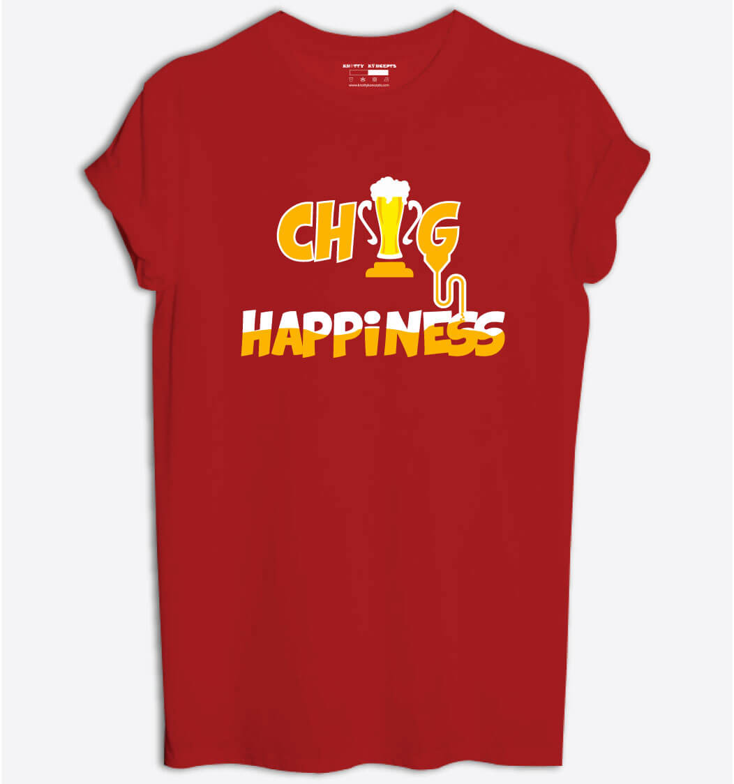 Chug Happiness T-Shirt
