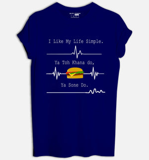 I Like My Life Simple T-Shirt