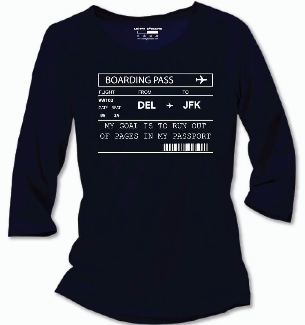 Run Out Of Passport Pages T-Shirt