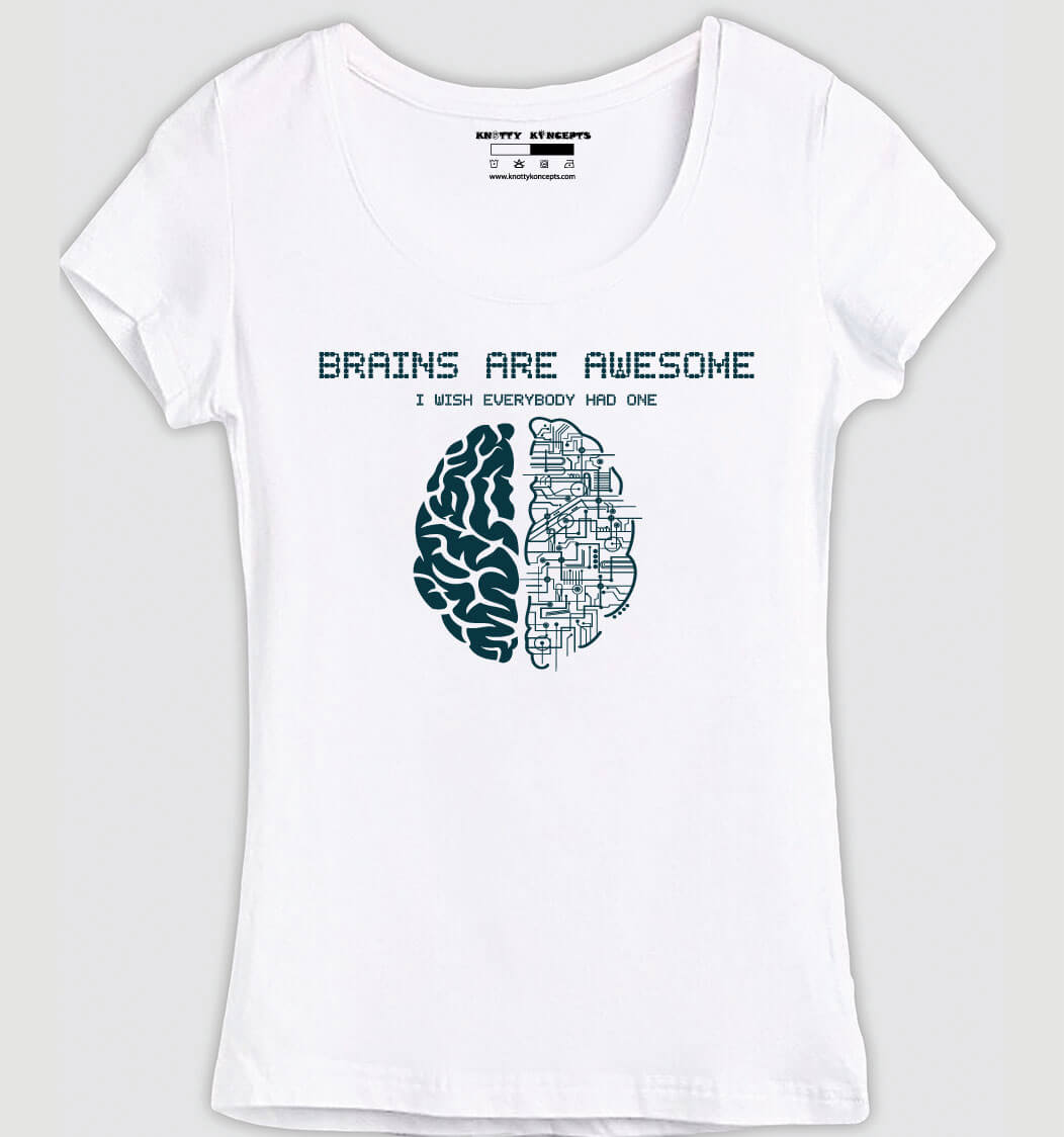Wish Everybody Had Brains T-Shirt