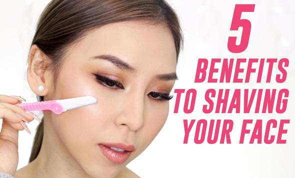 Dermaplaning Beauty Blade Shaver