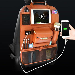 USB Backseat Organizer