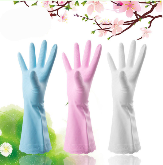 Super Durable Household Cleaning Gloves (3 Pairs)