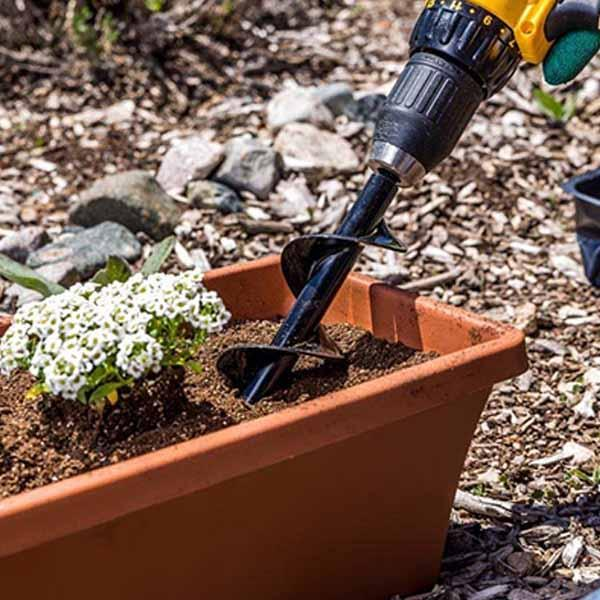 Spiral Hole Gardening Drill Attachment