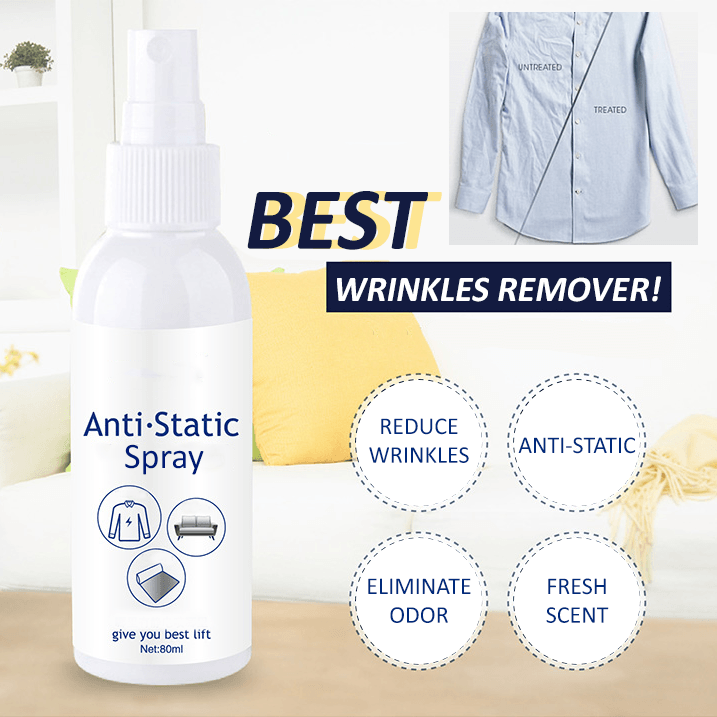 Instant Wrinkle Remover Spray