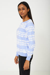 Westhill Redbird By BIK BOK Top in Blue and White Tone - My Berry Glam : Shop Till You Drop