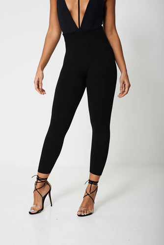 Basic Black Fleece Lined Leggings - My Berry Glam : Shop Till You Drop