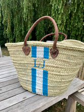 X04 : initials (2 letters) + stripe pattern 2 (bag not included)