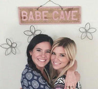 Custom Babe Cave Wood Signs | Weathered Signs