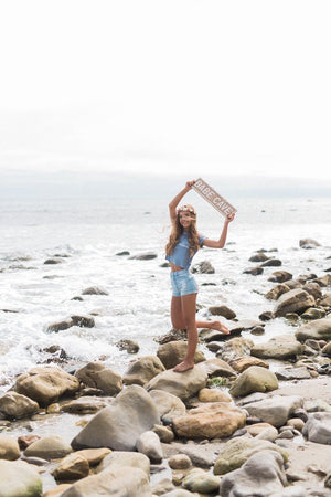 Babe Cave Personalized Wood Sign - Brandy Melville Signs | Weathered Signs