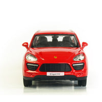 1:36 Alloy Pull Back Cayenne SUV Sports Car Model Of Children's Toy Cars Original Authorized Authentic Kids Toy  Gift Collection