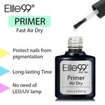 Elite99 10ml Long Lasting Fast Air Dry Primer UV LED Gel Base Primer No Need Of UV/LED Lamp Soak Off Gel Nail Polish Art Design