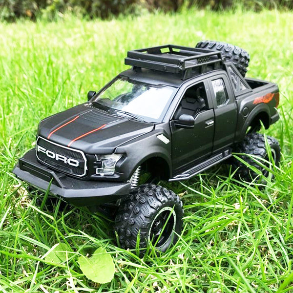 1:32 Ford Raptor F150 Pickup Truck Metal Toy Alloy Pull Back Diecast car Model car Model Gift toys for children