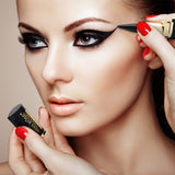Miss Rose Gel Eyeliner Eye Liner Waterproof Eyes Liner Easy to Wear Eye Pencil For Eyes Eyebrow Pencil Makeup Cosmetics
