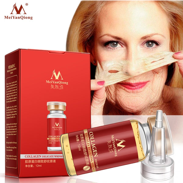 Collage Argireline+aloe vera+collagen rejuvenation anti wrinkle Serum for the face skin care products anti-aging cream 12ML