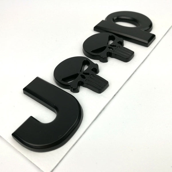 Dsycar 3D Metal for JEEP Premium Car Side Fender Rear Trunk Emblem Badge Sticker Decals,car accessories stickers