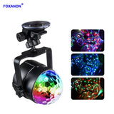 Foxanon DC5V USB Activated Stage Light DJ Disco Ball Lumiere 6W Laser Projector Stage Lighting Effect Lamp Car Xmas KTV DJ Party