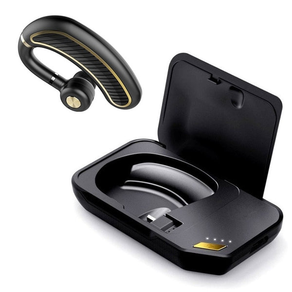 GDLYL Hands-free Wireless Bluetooth Earphone Bluetooth Headset Headphones Earbud with Microphone Earphone Case for Phone PC
