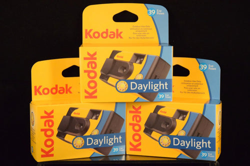 Pack 3 appareils photos JETABLES KODAK DAYLIGHT