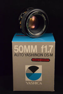 OBJECTIF YASHICA 50mm F1.7
