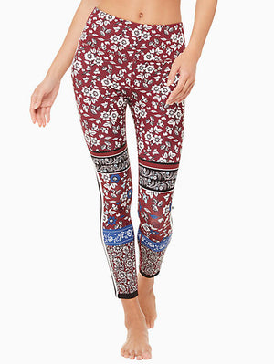 Whimsy Bi-Stripe Legging