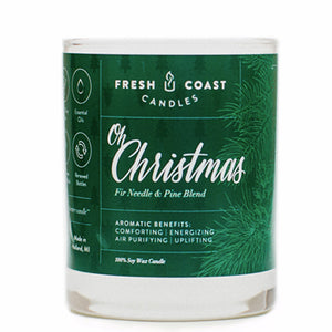 Fresh Coast Candles  - Oh Christmas 11oz