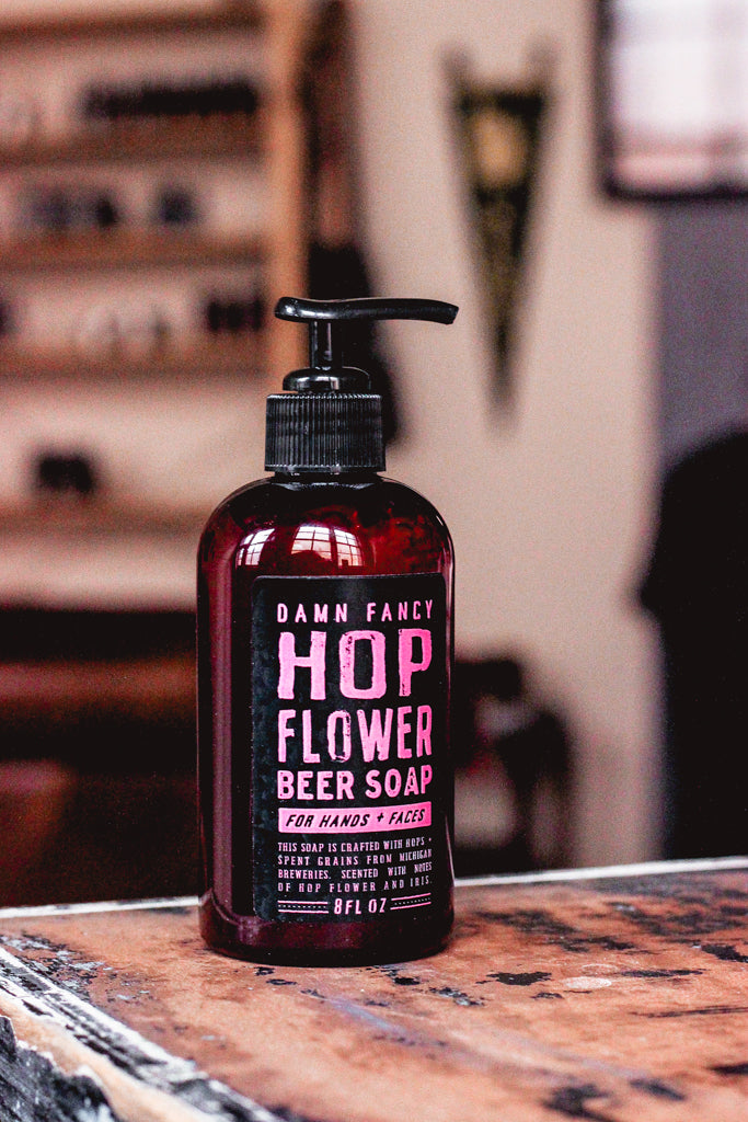 Damn Handsome Grooming Co. - Hop Flower Soap