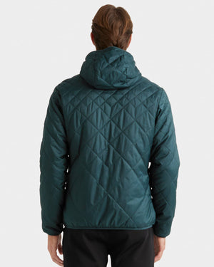 Tundra Quilted Hooded Jacket