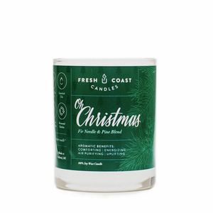 Fresh Coast Candles  - Oh Christmas 6.5oz