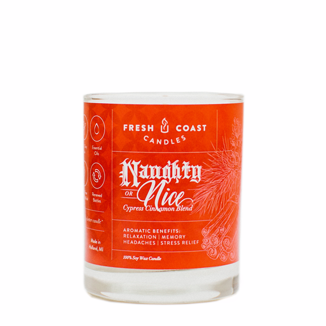 Fresh Coast Candles  - Naughty or Nice 6.5oz