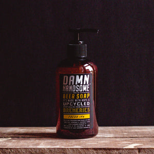 Damn Handsome Grooming Co. - IPA Beer Soap Pump