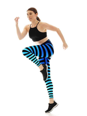 Sneaker Leggings in Alexis Stripe