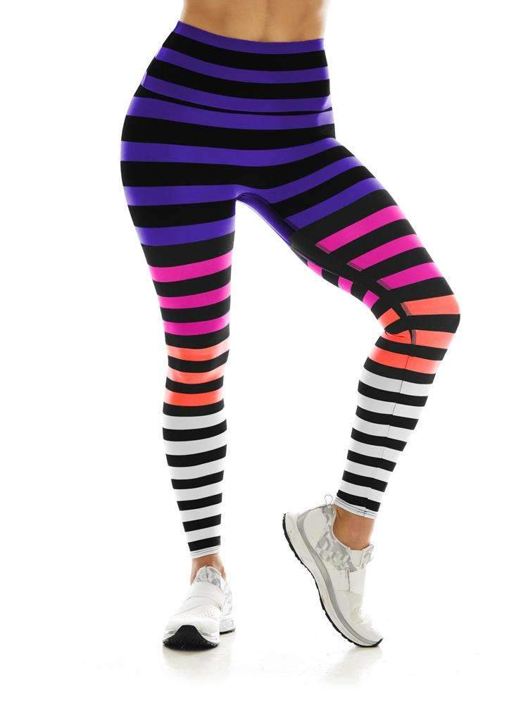 Sneaker Leggings in Colleen Stripe