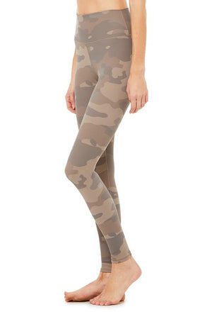 High Waist Vapor Legging - Camo