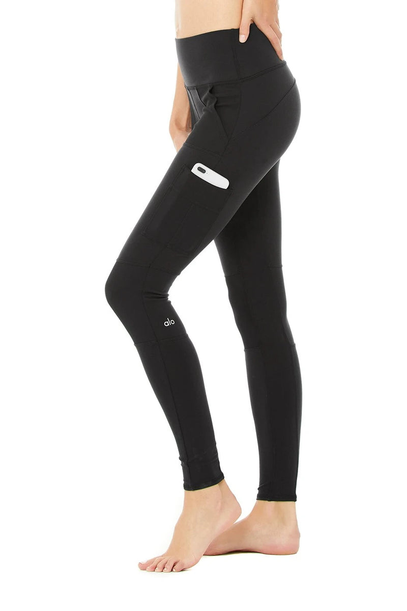 High Waist Cargo Legging