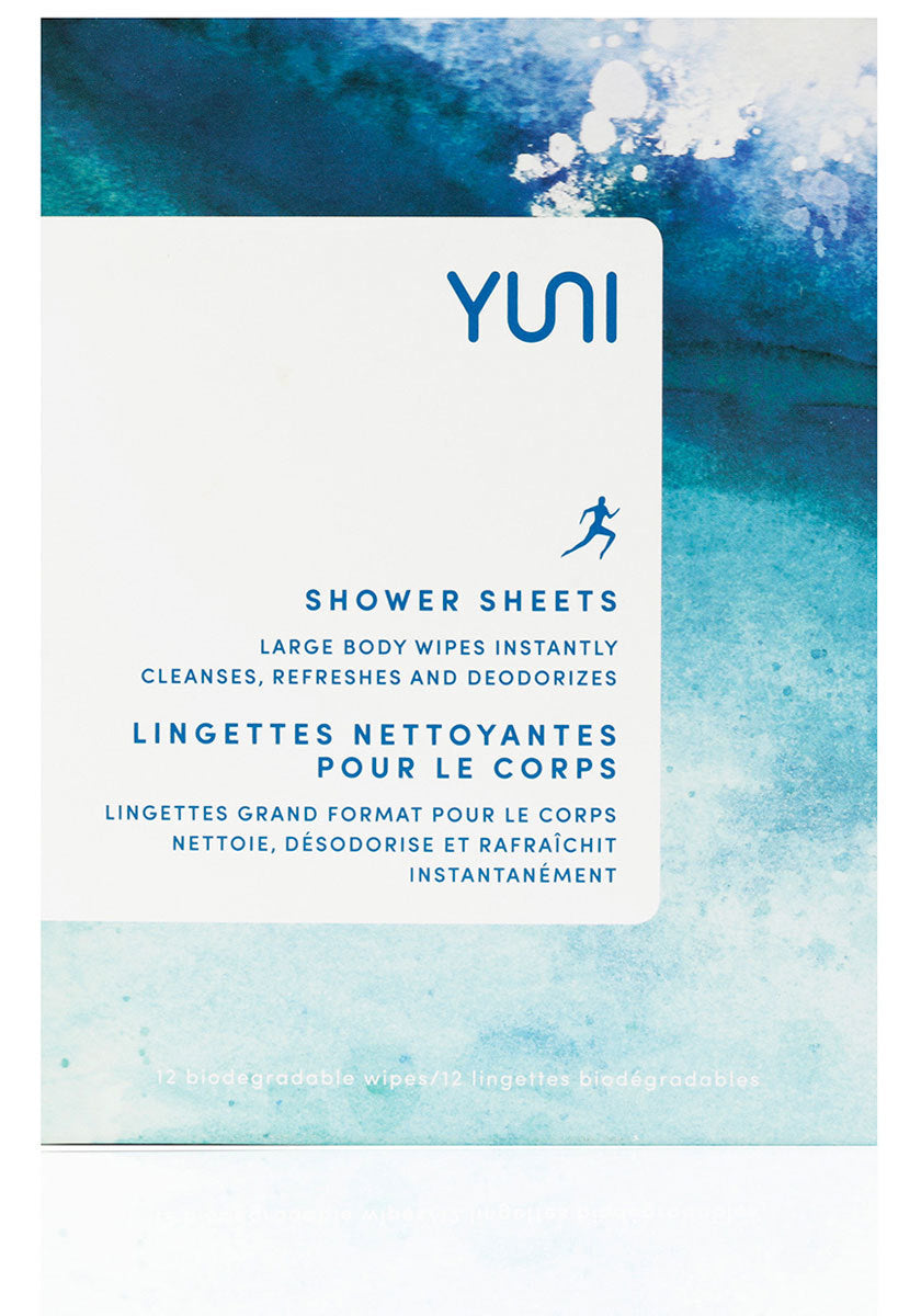 YUNI Beauty - Large biodegradable Body Wipes