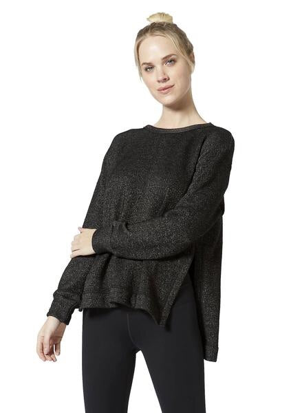Verge Reversible Side Slit Pullover