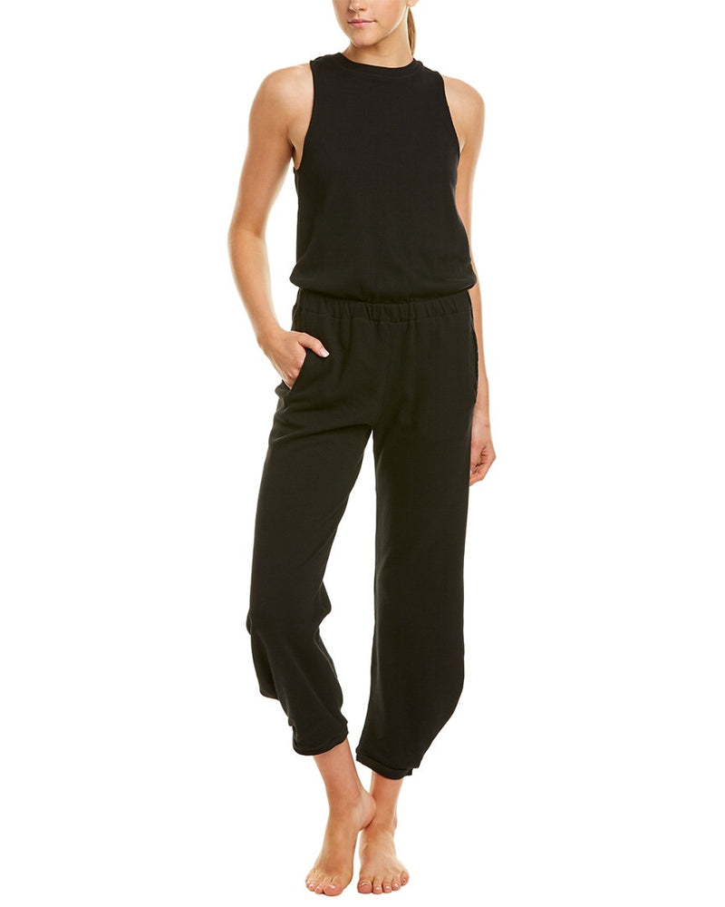 Boundary Slit Back Jumpsuit