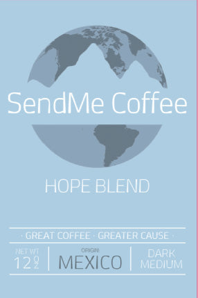 Sendme Coffee Dark Roast Hope Blend
