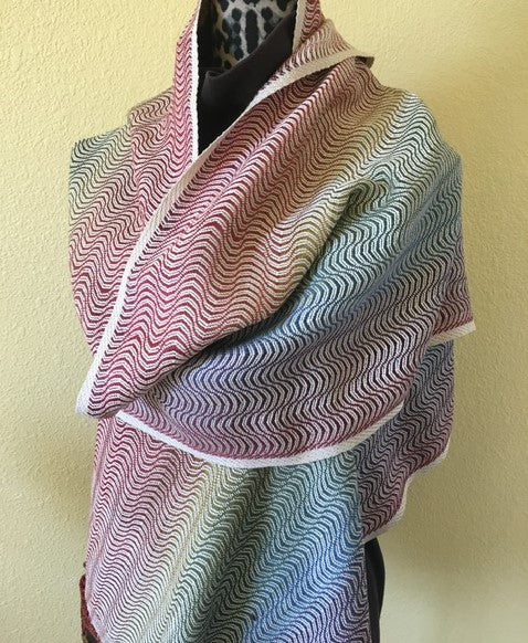 Rainbow Waves Wrap