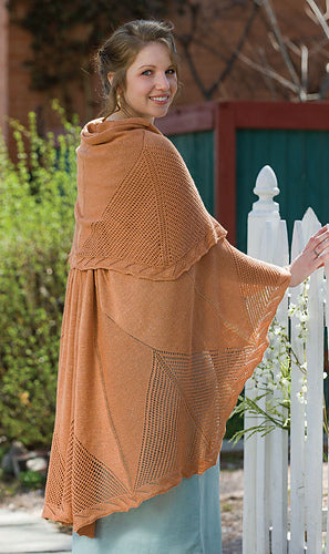 Compass Rose Shawl pattern