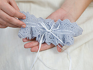 Bridal Garters to Knit pattern