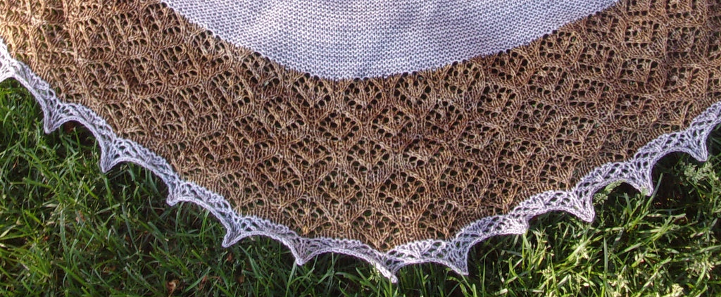 Ogee Shawl Pattern
