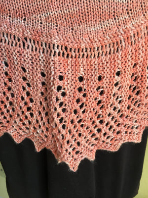 Summer Prism Shawl pattern